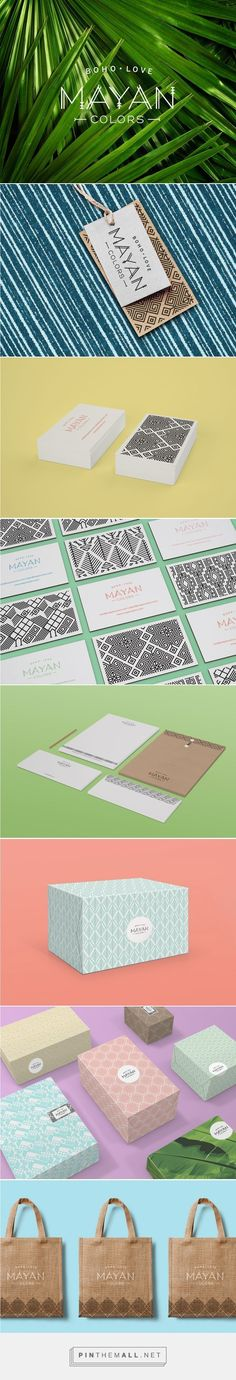 Mayan Colors on Behance | Fivestar Branding – Design and Branding Agency & Inspiration Gallery