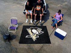 NHL - Pittsburgh Penguins Tailgater Rug 5'x6'