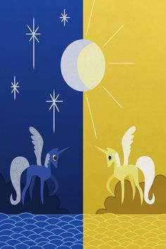 My Little Pony Princess Celestia and Luna