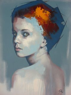 SS4. SOLLY SMOOK  Oil on Canvas  60 x 50 cm