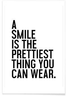 A Smile Is The Prettiest - Honeymoon Hotel - Premium Poster