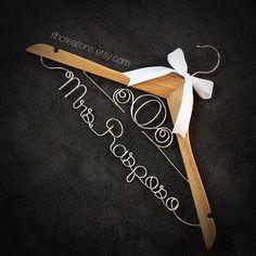 #disney inspired #wedding #hanger for a client! www.rlhcreations.etsy.com / #rlhcreations #rlhangers #etsy #ebay #disneywedding #cinderella #cinderellawedding #cinderellacarriage #weddinghanger #personalized #custom #romanticwedding