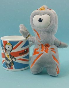London 2012 Olympic Games Official Product Mug Cup Wenlock With Official Mascot   | eBay