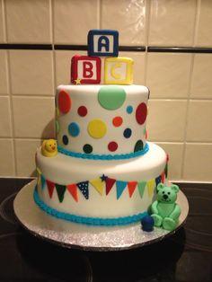 ABC Baby Shower Cake 2013