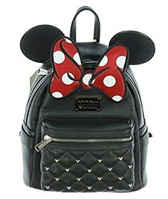Amazon.com | Loungefly Disney Minnie Mouse Ears & Bow Mini Backpack | Kids' Backpacks