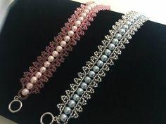 Easy Lacy Beaded Bracelet ~ Seed Bead Tutorials