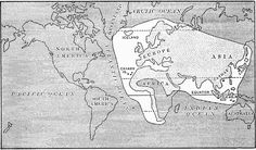The World as known in the time of Columbus, 1450–1492