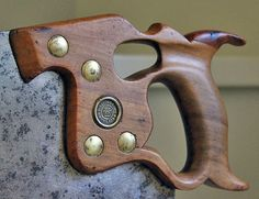 The Resurrection of a Disston D8 Thumbhole Saw by Kim Malmberg