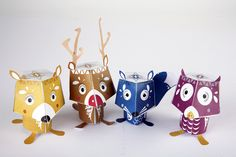 Characters by Jess Bright, via Behance