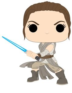 Star Wars Rey   Funko Pop! Star Wars: Nova Linha traz Rey com Sabre de Luz, Luke ...