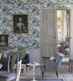 Design Classic | Vintage | Roseto Wallpaper by Designers Guild | TM Interiors Limited