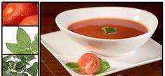 Tomatensuppe mit Inulin für einegesunde Verdauung, rein pflanzlich, daher ideal für Vegetarier + Veganer