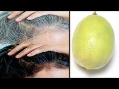 White Hair To Black Hair Naturally in Just 7 Night Permanently At Home ! My Simple Remedy Ingredients: Olive Oil Lemon Coconut Oil ➡ Don't forget to. White Hair, Black Hair, Egg Yoke, Hair Remedies, Hair Growth, Dyed Hair, Coconut Oil, Natural Hair Styles, Night