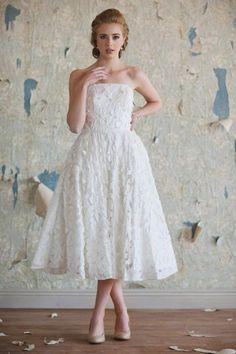 Vestidos de noiva até o tornozelo: o glamour dos anos 50 Image: 1