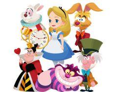 Alice in Wonderland ClipArt / Alice in Wonderland Clip Art / Mad Hatter ClipArt…