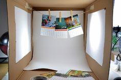 Super Quick Light Box for Better Photos - Dream a Little Bigger