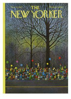 The New Yorker Cover - November 25, 1972 Charles E. Martin