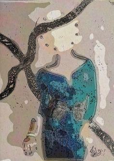 ARTES, DESARTES E DESASTRES CONTEMPORÂNEOS. Miss Terious Lee 0,80 x 0,57 Técnica mista (Collage +painting+ digital interference)