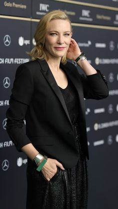 "Cate Blanchett attends the ""Where'd You Go, Bernadette"" premiere during the 15th Zurich Film Festival  #cateblanchett #actress #cateblanchettmovies #wheredyougobernadette #zurichfilmfestival"