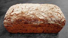 Celozrnný žitný chléb Bread Recipes, Banana Bread, Bakery, Food And Drink, Health Fitness, Healthy Recipes, Cooking, Desserts, Youtube