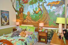 Jungle Book themed Childrens Bedroom at Eagle Creek, Orlando, Florida  www.CenterlineHomes.com