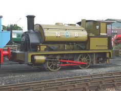 NBR G Class No. 42 - One of a class of 35 small engines for shunting duties in dockyards and for short industrial sidings etc. Usually had a wagon containing coal behind it. This loco finished working on BR at St Margarets in 1962. Currently on display in the museum.