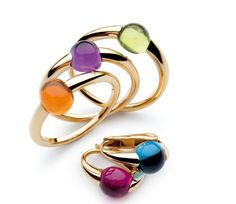 Pomellato rings look like candy