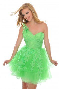 #PreciousFormals H20859 Cute  Green prom dress.  Short prom dress. #InternationalProm #Prom #Promdress