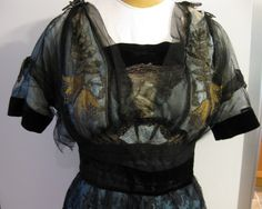 Tattered, but beautiful Edwardian gown