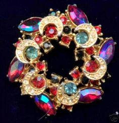 Brooches, by English company, 'Sphinx'. From the 60's till the 80's.