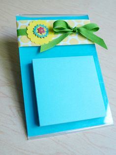 Post it note holder - So Cute!