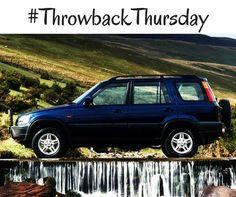 #TBT: 1999 Honda CR-V