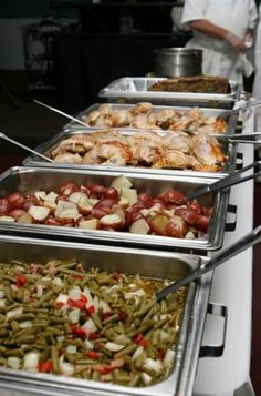Wedding Reception Food Catering Menu Ideas - - When you are surfing the net for catering companies in Utah, you will find that there are many options to choose from. There are caterers Catering Buffet, Catering Display, Catering Food, Catering Ideas, Catering Companies, Catering Business, Wedding Buffet Food, Wedding Catering, Food Buffet