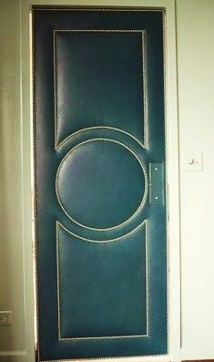 Through the French eye of design: UPHOLSTERED DOORS