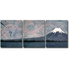 mt fuji painting. japanese room ref.