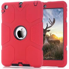 3 in 1 cover case fits for Apple iPad Mini 1/2/3.