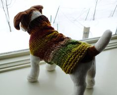 Dog Coat Hand Knit NORO Cable Horizon  Small 12 inches by jenya2