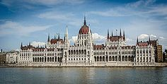 Hungary - capital: Budapest - photo: The building of the Hungarian Parliament