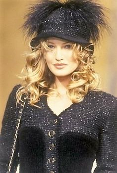Karen Mulder - CHANEL, Autumn-Winter 1993, Couture
