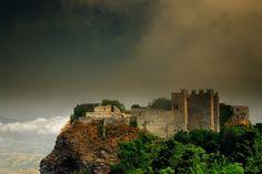 castle of venus, antica erice,sicily,italy.
