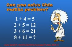 Can you solve this maths problem? Answer: www.iqcatch.com/frontend/home/page/Puzzle-ANS-3