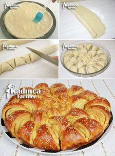 Tereyağlı Bulgar Ekmeği Tarifi Kadincatarifler.com - En Nefis Yemek Tarifleri Sitesi - Oktay Usta