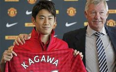 Any football fans out there? Japan's Shinji Kagawa joined Manchester United recently and already seems to be off to a good start on the team, scoring in a recent victory.