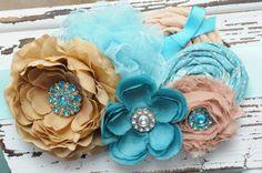 Maternity, pregnancy, belly sash.  Newborn headband, infant headband, baby bow, cute baby bow. $45.00, via Etsy.