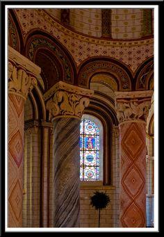 Eglise Saint Pierre, Chauvigny (Vienne)