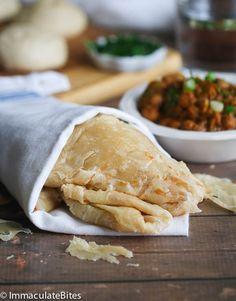 Paratha Buss Up Shut Bread from @africanbites