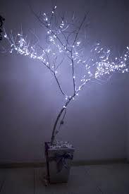 decorar una rama con luces led - Buscar con Google