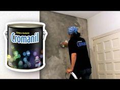 Cimento Queimado Textura MUITO FÁCIL de aplicar! - YouTube