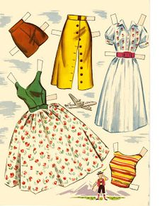 Kathleen Taylor's Dakota Dreams: Thursday Tab- Lowe Million Dollar Dolls Beautiful Dolls, Beautiful Outfits, Paper Dolls Printable, Christmas Paper Crafts, Vintage Paper Dolls, Paper Toys, Mannequins, Dress Me Up, Doll Toys