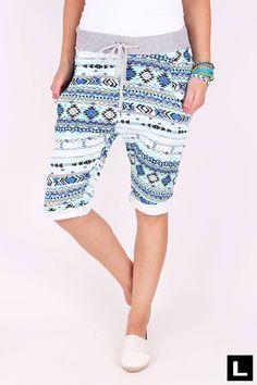Teplákové kraťasy bavlnené Bermuda Shorts, Women, Fashion, Moda, Fashion Styles, Fashion Illustrations, Shorts, Woman